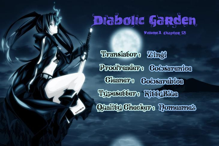 Diabolic Garden - Trapped In A Nightmare - 1