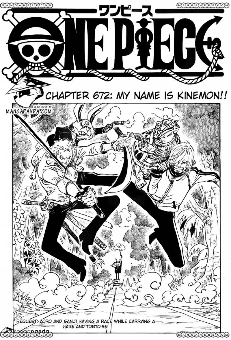 One Piece - My Name is Kinemon!! - 1