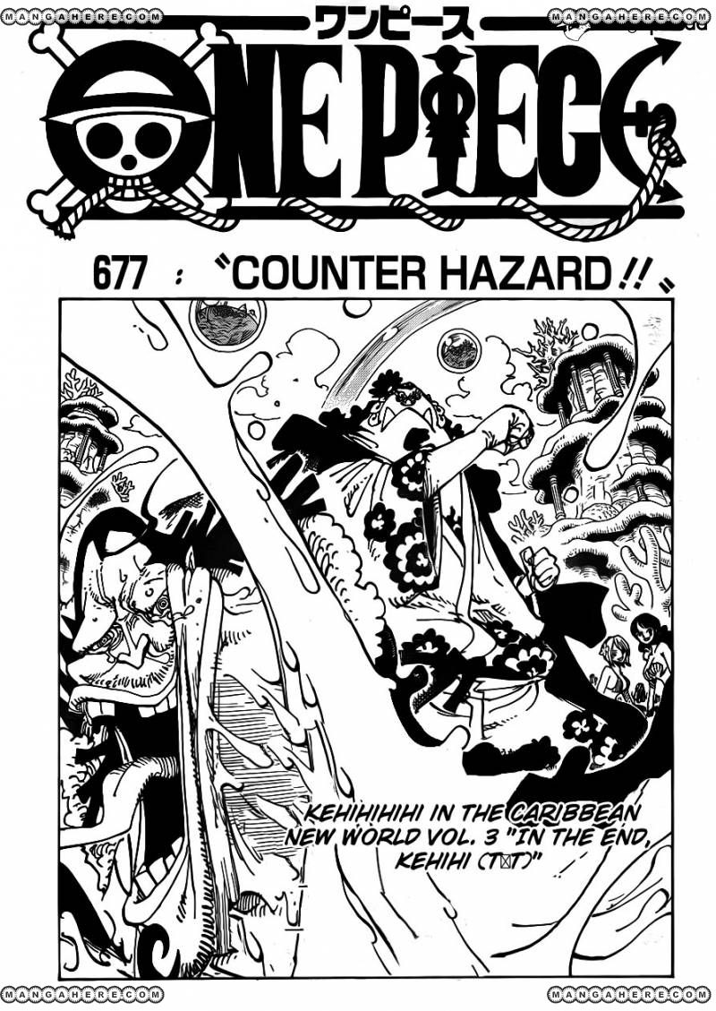 One Piece - Counter Hazard!! - 1