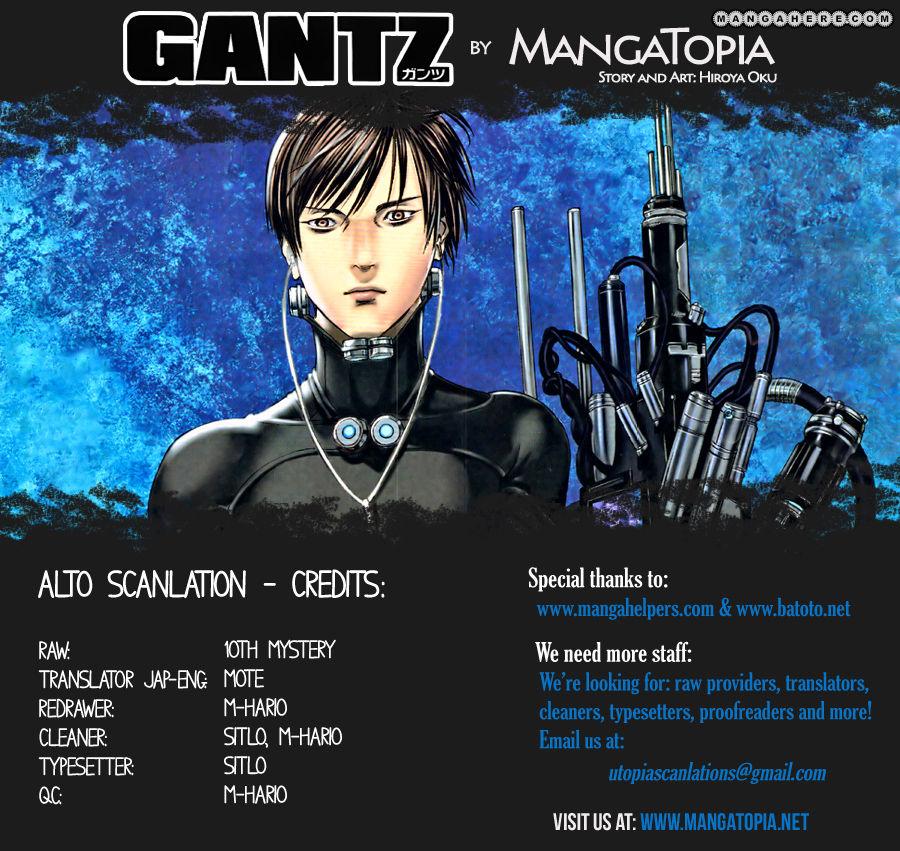 Manga Gantz capitulo 370 I001