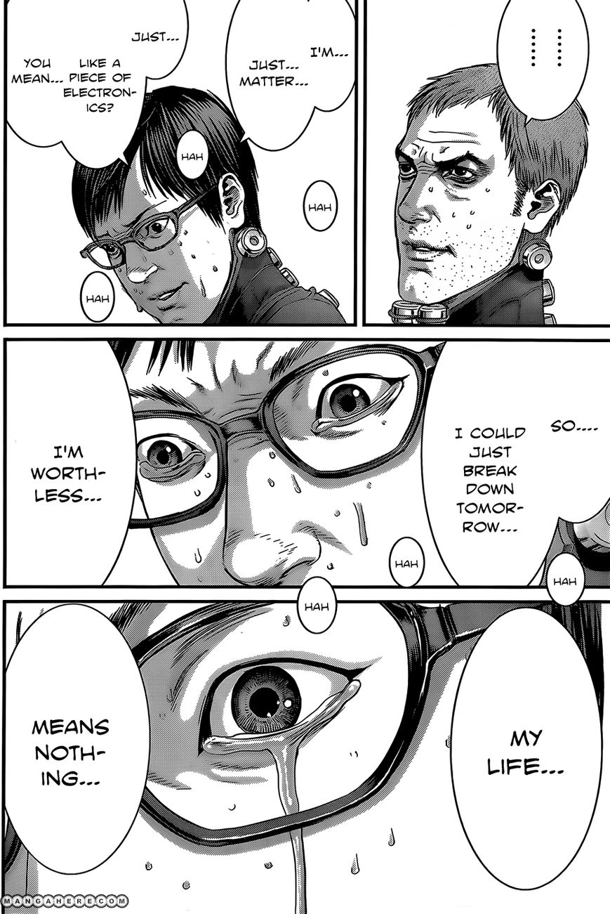 Manga Gantz capitulo 370 I008