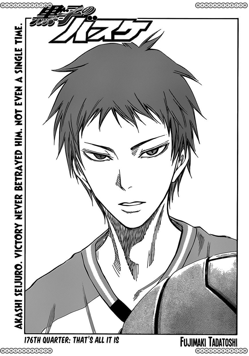 Kuroko no Basket - Chapter 176 - 1