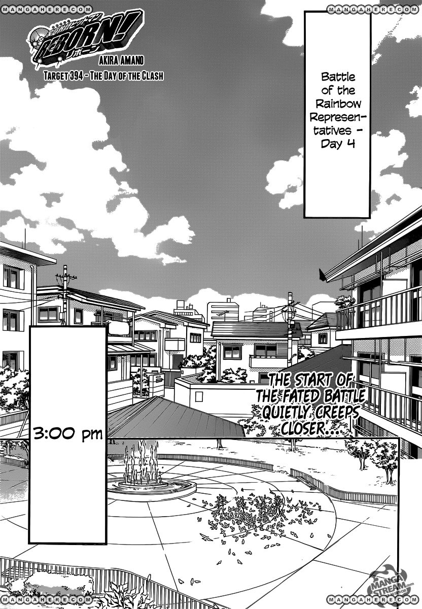Katekyo Hitman Reborn - Chapter 394 - 1